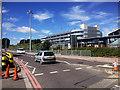 SU4417 : Southampton International Airport, Mitchell Way by David Dixon