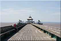 ST4071 : Clevedon Pier by Oliver Mills