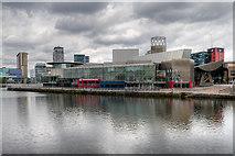 SJ8097 : Salford Quays Pier Eight, The Lowry Centre by David Dixon