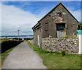 SS1495 : Damaged building on Caldey Island by Jaggery