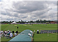 SK5566 : Nottinghamshire v Derbyshire at Welbeck by John Sutton