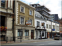 TQ3265 : The Ship and other premises, Croydon High Street by Robin Webster