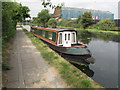 TQ2282 : Maid of the Mist, of Somerton, narrowboat on Paddington Branch canal by David Hawgood