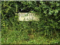TL1717 : Bibbs Hall Lane sign by Adrian Cable