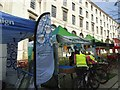 SE2934 : Leeds Skyride 2016 - campaign stands by Stephen Craven