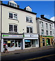 SO5012 : Oxfam Shop,  Agincourt Square, Monmouth  by Jaggery
