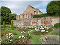 TQ4273 : The Great Hall from the Sunken Rose Garden at Eltham Palace by Marathon