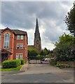 SJ8889 : St Matthew's spire by Gerald England