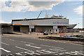 SU4209 : Queen Elizabeth II Cruise Terminal, Southampton Docks by David Dixon