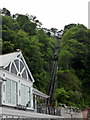 SS7249 : Lynton and Lynmouth Cliff Railway by PAUL FARMER