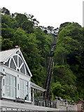 SS7249 : Lynton and Lynmouth Cliff Railway by PAUL FARMER