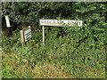 TM0479 : Redgrave Road sign by Adrian Cable