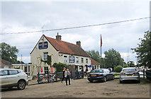 TG4022 : Pleasure Boat Inn, Hickling Broad by Peter Turner