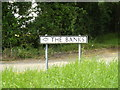 TM0379 : The Banks sign by Adrian Cable