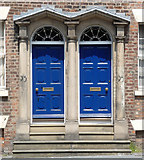 SJ3590 : Detail of 93-95 Mount Pleasant, Liverpool by Stephen Richards
