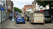SO6024 : Gloucester Road traffic, Ross-on-Wye, 1 by Jonathan Billinger