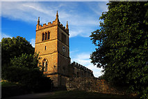SK4968 : St Leonard's Church, Scarcliffe by Andy Stephenson