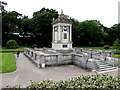 SZ0891 : Bournemouth War Memorial by Jaggery