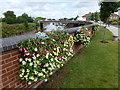 TF4609 : Nene Quay - Wisbech in Bloom 2016 by Richard Humphrey