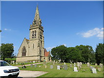 SK1820 : The Church of St Mary at Dunstall by Peter Wood