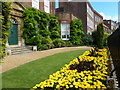 TF4509 : Front garden of Peckover House - Wisbech in Bloom 2016 by Richard Humphrey