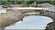 J3674 : Connswater works, Belfast - July 2016(6) by Albert Bridge