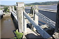 SH7877 : Conwy Suspension Bridge by Jeff Buck