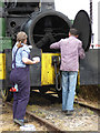 SO8040 : Welland Steam Rally - cuisine a la locomotive  by Chris Allen