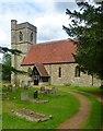 TL3517 : St Mary's Church, Thundridge by Jim Osley