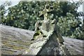 SE8467 : St Nicholas' Church: Porch Finial by Bob Harvey