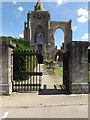 TF2410 : Entrance to Crowland Abbey by Geographer