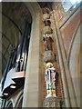 SE1020 : All Saints, Elland: figures of saints by Stephen Craven