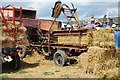 SO8040 : An early baler at Welland Steam Rally by Philip Halling
