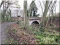 SE9333 : Bridge  over  dismantled  railway  in  Drewton  Dale by Martin Dawes