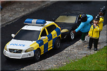 SX9265 : Torquay : Babbacombe Model Village - Policce Car by Lewis Clarke