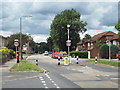 TQ3968 : Width restriction on Hillside Road, near Bromley by Malc McDonald