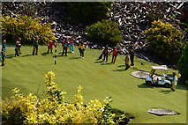 SX9265 : Torquay : Babbacombe Model Village - Golf Course by Lewis Clarke