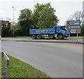 SO9524 : Keyway lorry in Cheltenham by Jaggery