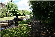 SE0511 : Lock 37E, Huddersfield Narrow Canal by Ian S