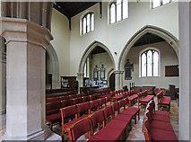 TL5646 : St Mary, Linton - Interior by John Salmon
