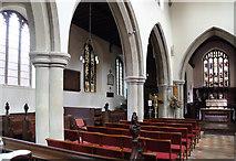 TL5646 : St Mary, Linton - North arcade by John Salmon