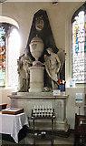 TL5646 : St Mary, Linton - Monument by John Salmon