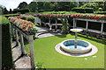 ST0972 : Pompeian Garden, Dyffryn Gardens by M J Roscoe