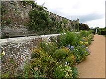 TQ5243 : The Blue & Yellow Border, Penshurst Place by Marathon