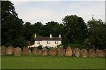 TA0015 : Serried ranks of gravestones, Bonby by Chris