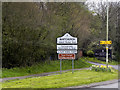 SJ5343 : Town Sign for Whitchurch by David Dixon