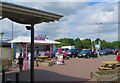 SK5302 : Leicester Forest East Services by Paul Harrop