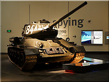 SJ8097 : Imperial War Museum North, Soviet T-34/85 Tank by David Dixon