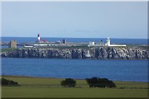 NU2135 : Looking across to the Farnes by DS Pugh