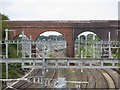 SU5885 : No View Through Silly Bridge by Bill Nicholls